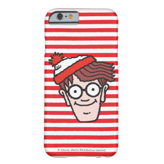 Where's Waldo Face Barely There iPhone 6 Case