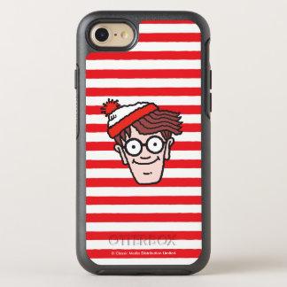 Where's Waldo Face OtterBox Symmetry iPhone 7 Case