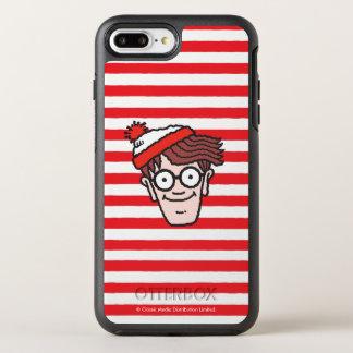 Where's Waldo Face OtterBox Symmetry iPhone 8 Plus/7 Plus Case
