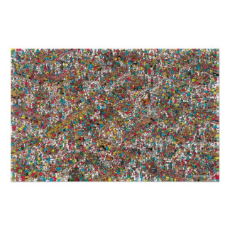 Where's Waldo | Gobbling Gluttons Poster