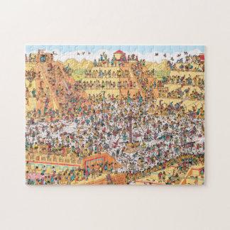 Where's Waldo | Last Days of the Aztecs Jigsaw Puzzle