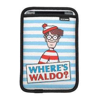 Where's Waldo Logo iPad Mini Sleeves
