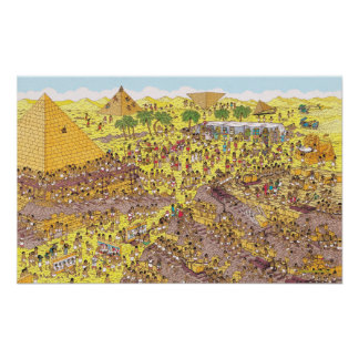 Where's Waldo | Riddle of the Pyramids Poster