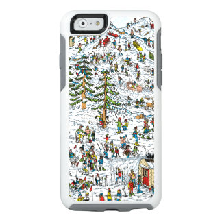 Where's Waldo Ski Slopes OtterBox iPhone 6/6s Case