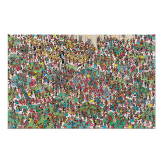 Where's Waldo | Swashbuckling Muskeeters Poster