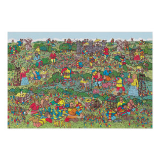 Where's Waldo | Unfriendly Giants Poster