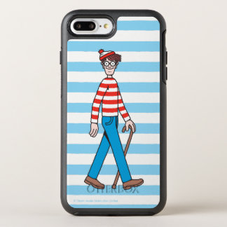 Where's Waldo Walking Stick OtterBox Symmetry iPhone 7 Plus Case