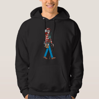 Where's Waldo with all his Equipment Hoodie