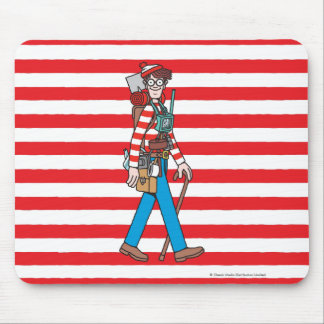 Where's Waldo with all his Equipment Mouse Pad