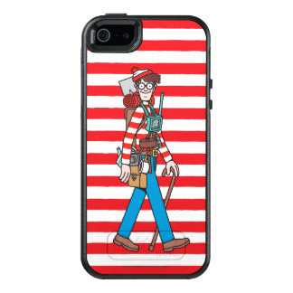 Where's Waldo with all his Equipment OtterBox iPhone 5/5s/SE Case