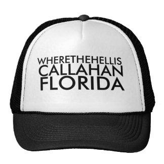 WHERETHEHELLIS, CALLAHAN, FLORIDA CAP
