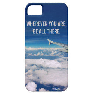 Wherever you are - Sky and airplane iPhone 5 Cover