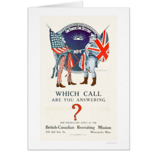 Which Call are You Answering? (US02110) Card