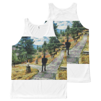 Which direction to take All-Over print singlet