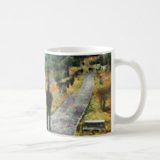Which direction to take coffee mug