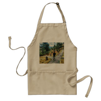 Which direction to take standard apron