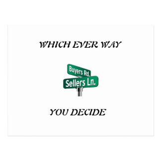 Which ever way you decide sale or buy postcard