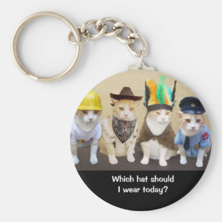 Which Hat? Key Ring