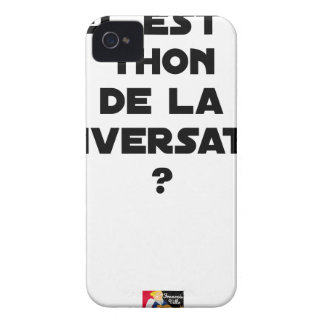 WHICH IS THE TUNA OF THE CONVERSATION iPhone 4 COVERS