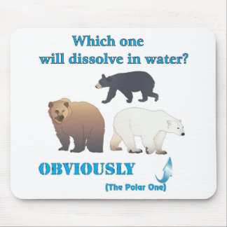 Which one will dissolve in water Polar Chemistry Mouse Pad