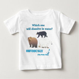 Which one will dissolve in water Polar Chemistry T-shirt