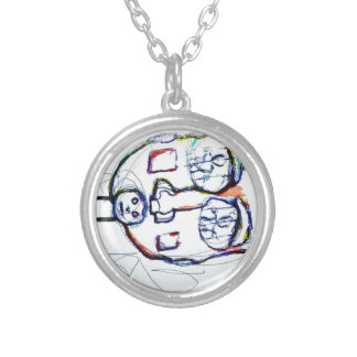 Which Prison Which Silence Silver Plated Necklace
