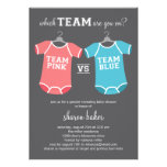 Which Team? Gender Revealing Baby Shower