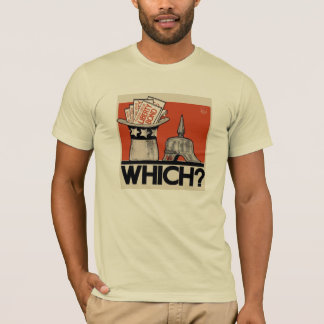 Which ? Tyranny or Liberty WW1 T-Shirt