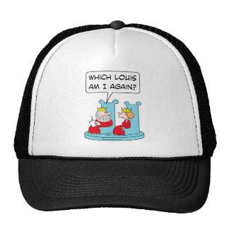 whick louis king queen hat