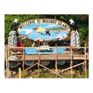 Whidbey Island Welcome Postcard