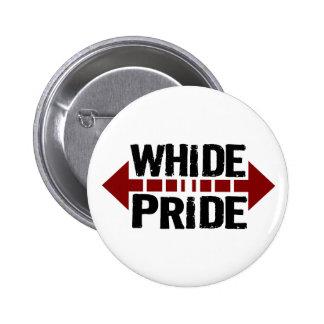 Whide Pride - For Big Boys n' Girls Pinback Button