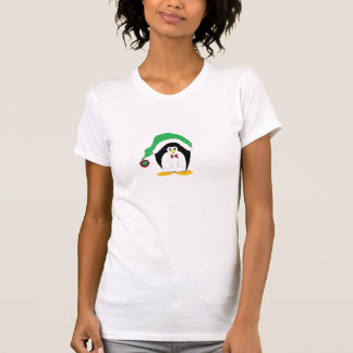 Whimiscal Holiday Penguin T-Shirt
