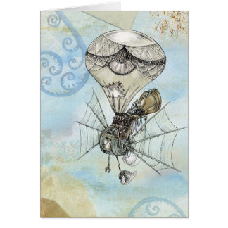 Whimiscal Steampunk Greeting Cards