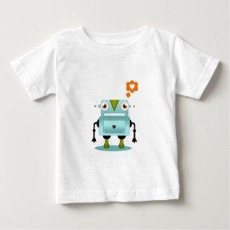 Whimsical and Artistic Robot Love Kids Shirt