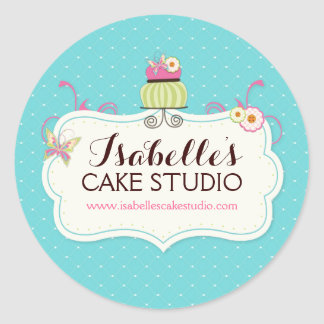 Whimsical and Fun Cake Labels