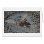 Whimsical Angel with trumpet - Renaissance Greeting Cards