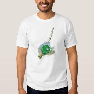 Whimsical Antique Fishing Reel T-Shirt