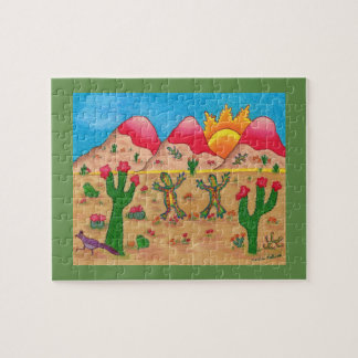 Whimsical art puzzle