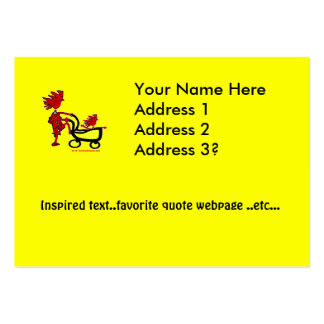 Whimsical Baby Large Business Cards (Pack Of 100)