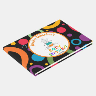 Whimsical Baby Gender Neutral Baby Shower Guest Book