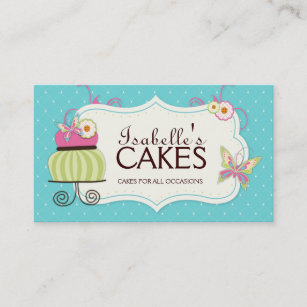 Bakery Business Cards Business Card Printing Zazzlecomau