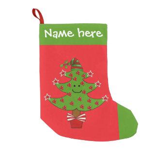 Whimsical Berry Tree Christmas Stocking