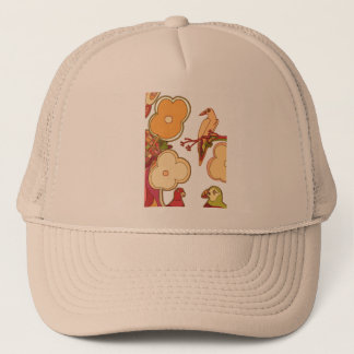 Whimsical Birds (Any color you pick!) Trucker Hat