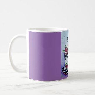 Whimsical Birthday Cake Coffee Mug