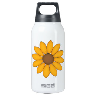 Whimsical Black-Eyed Susan 0.3L Insulated SIGG Thermos Water Bottle