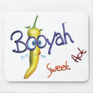 Whimsical Booyah design Mouse Pad