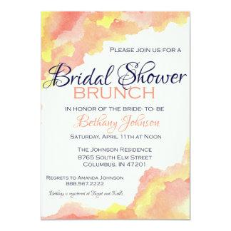 Whimsical Bridal Shower Brunch 13 Cm X 18 Cm Invitation Card