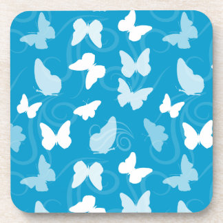 Whimsical Butterflies Drink Coaster