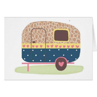 Whimsical Camp Trailer Card