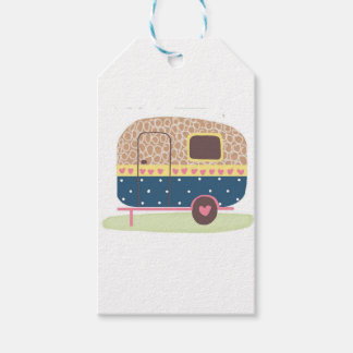 Whimsical Camp Trailer Gift Tags